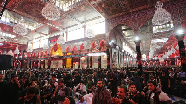 Millions of Arba`een pilgrims from around the globe gather in Karbala
