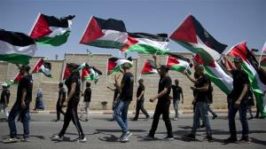 Palestinians stage massive anti-Israeli rallies on Nakba Day