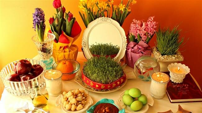 Iranians all over the world are celebrating the ancient festival of Nowruz