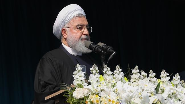 President Rouhani says US opposes Iran due to Tehran's refusal to be submissive