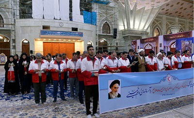 Imam Khomeini paid special attention to Red Crescent Society