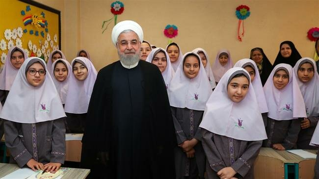Millions of Iranian students begin new school year
