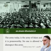 Army in Imam Khomeini`s quotes