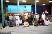 Participants of 36th international Quranic competition visit Jamaran