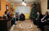 President Rouhani visited Armenian wounded war veteran Hasou Keshish Danilian