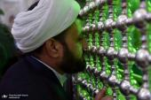 Leaders of congregational prayers pledge allegiance to Imam Khomeini`s thought and ideals