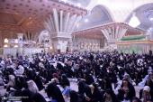 The believers and faithful reciting `Arafah supplication at Imam Khomeini`s holy mausoleum