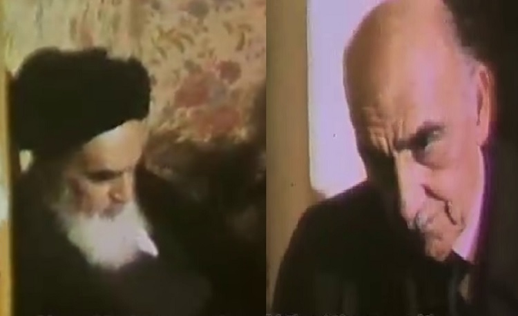The story of the meeting of the Pahlavi reigning council's head with Imam Khomeini in Nofel Loshato