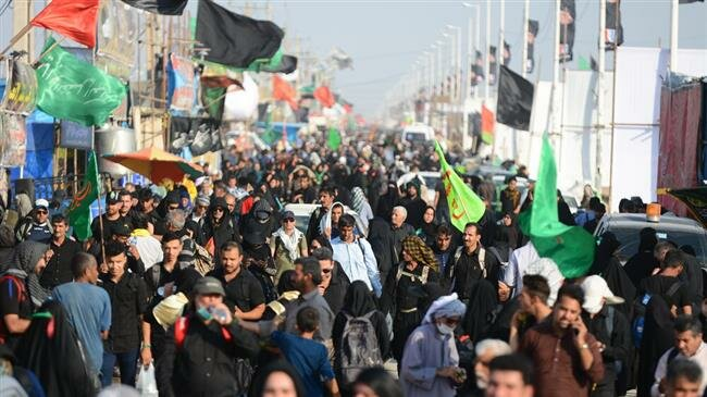 Over two million Iranian pilgrims enter Iraq for Arba'een pilgrimage
