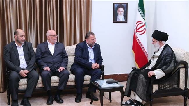 Leader says Palestinian resistance heralds `definite` victory