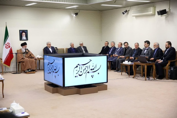 Leader  says Iran must maintain and increase the pace of its scientific progress.