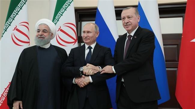 Iran, Russia and Turkey discuss Syria in Sochi
