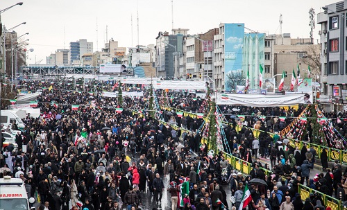 Iranians hold nationwide rallies to support Islamic Revolution on 40th anniversary