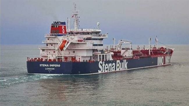 Iran releases footage of seized UK-flagged oil tanker in Strait of Hormuz