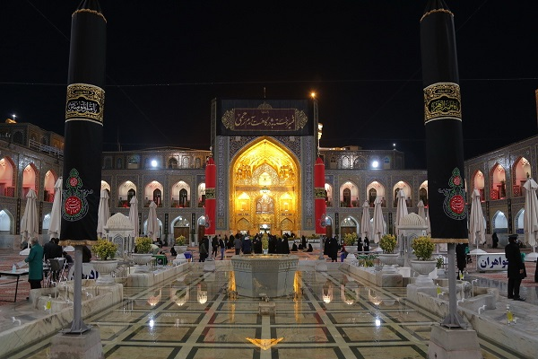 The spiritual atmosphere at  Imam Reza (PBUH) holy shrine during last days of the lunar month of Safar