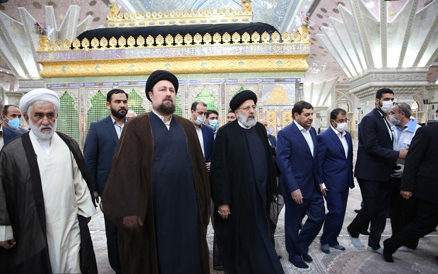 """The gathering titled """"Imam Khomeini`s Blessing"""" held at holy shrine of the founder of the Islamic Republic"""