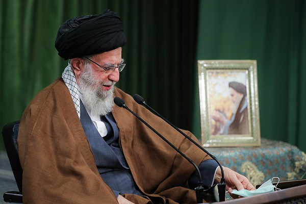 The leader of Islamic Revolution delivers speech on the auspicious occasion of birth anniversary of the holy prophet of Islam and Imam Sadiq