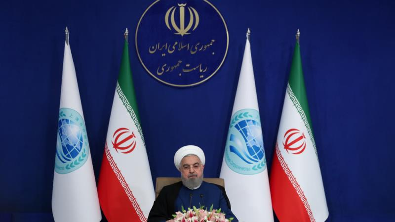 Rouhani says US election result shows people fed up with Trump administration