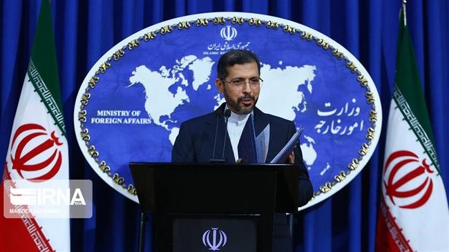 Foreign Ministry spokesman says US must stop economic war against Iran, return to path of law