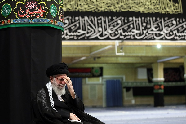Supreme leader in ceremonies held to remember Imam's Hossein (PBUH)'s sacrifices at Imam Khomeini's Hosseiniah
