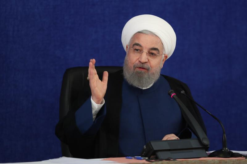 President Rouhani says White House 'responsible' for all crimes against Iranians