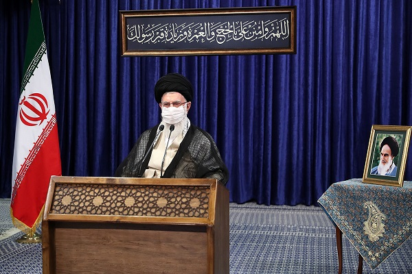 An online speech by the leader of the Islamic Revolution on the occasion of Eid-al-Adha