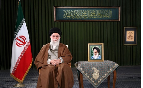 Leader says United States` sanctions have made Iran self-sufficient