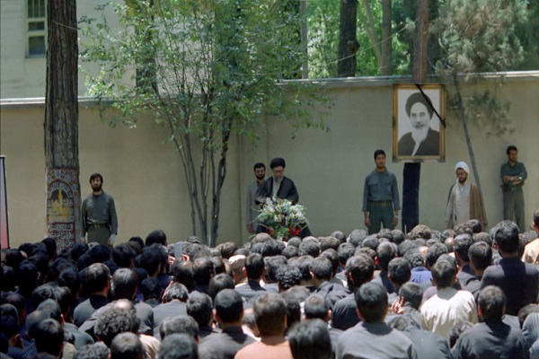 On June 10, 1989, a group of the workers from the organization pledged allegiance to Ayatollah Khamenei, the Leader of the Islamic Revolution