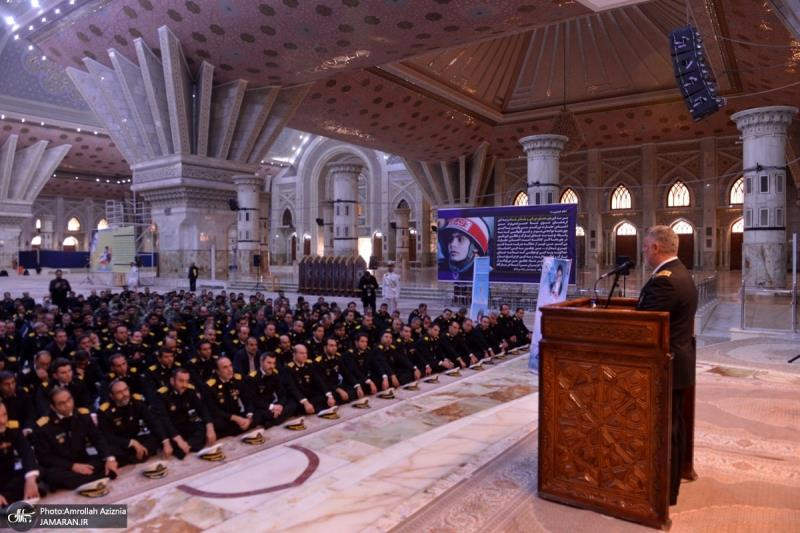 Maritime, naval commanders and personnel renew their pledge with ideals of Imam Khomeini