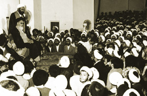 Imam Khomeini financed to keep preserving dignity for the seminary students