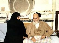 Imam Khomeini displayed great love and respect for his wife