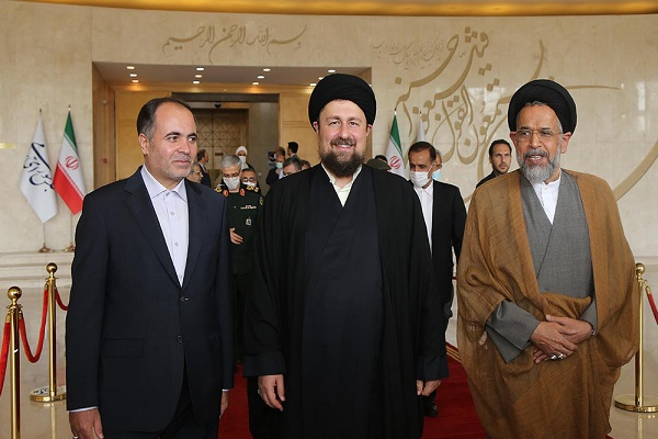 Seyyed Hassan Khomeini in 11th Parliament inauguration ceremony