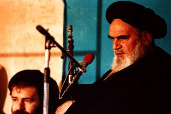 Imam Khomeini: I hope that human beings reach a sufficient stage of development to change the machine- guns into pens.