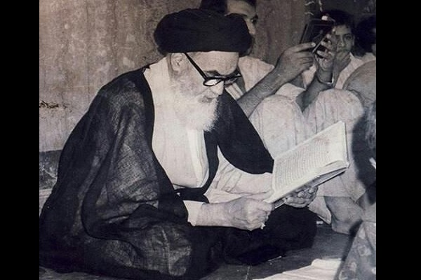 Imam Khomeini had showed great devotion towards reciting Quran