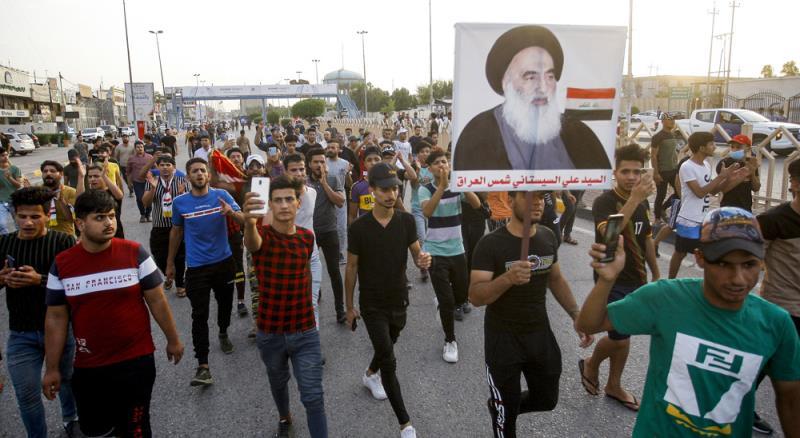 Iraqi officials irate as Saudi daily publishes cartoon against Ayatollah Sistani