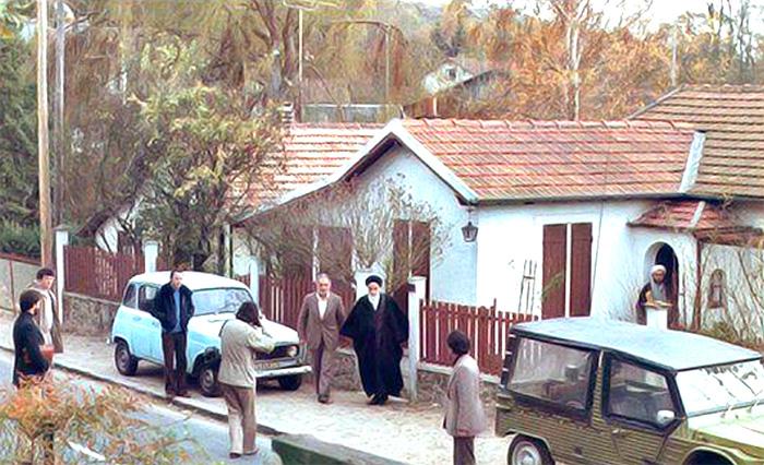 How did Imam host guests in Nofel Loshato?