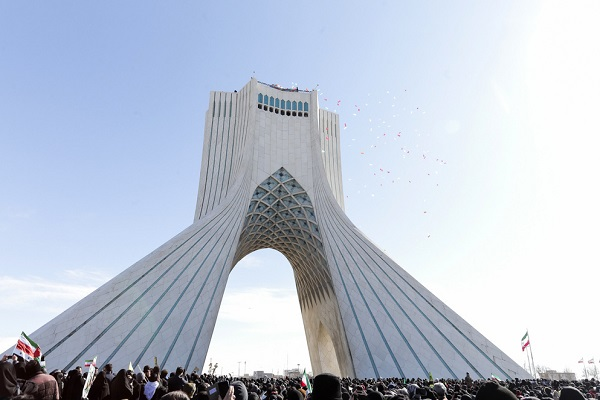Massive rallies were held on 22nd of Bahman to mark the anniversary of the victory of the Islamic revolution