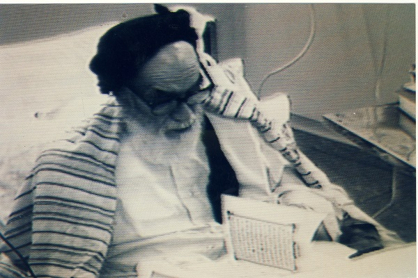 Imam Khomeini in Jamaran Heart Hospital