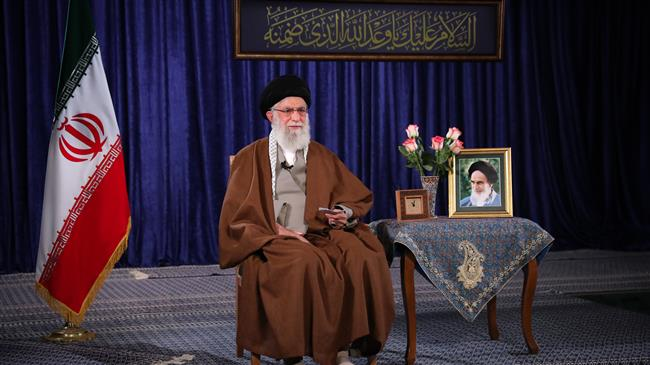 Leader hails Iranian nation in anti-virus battle
