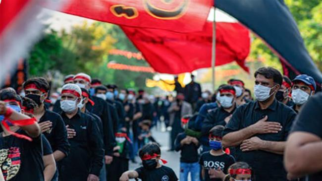 Iranians marks Arba'een with social distancing