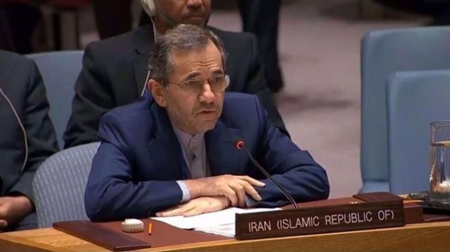 Iranian Envoy to UN says US pressure campaign against Iran 'example of state terrorism