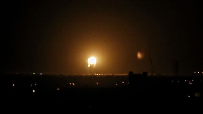 Israeli aircraft keep bombing Gaza Strip
