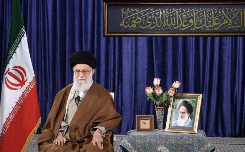 Leader of the Islamic Revolution in a live televised speech, marking the birthday anniversary of Imam Mahdi (PBUH)