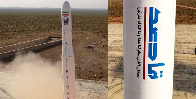 IRGC  successfully launch  Iran`s first military satellite into orbit