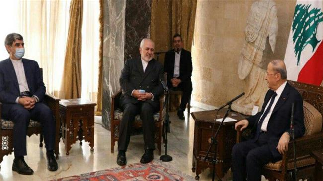 Zarif says Iran remains ready to continue assisting Lebanon