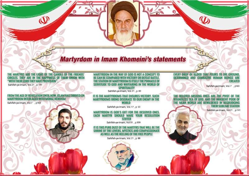 Martyrdom in Imam Khomeini`s quotes