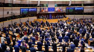 EU parliament slams Trump's Mideast plan as unlawful