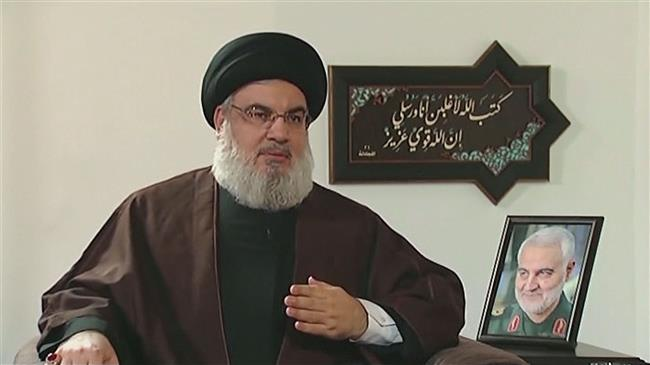 Nasrallah says US, Israel, Saudi Arabia culprits in assassinating Iran's General Soleimani