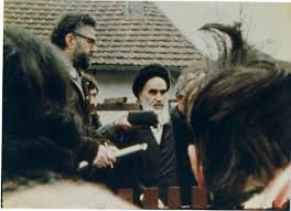 Imam Khomeini`s historic interview in Paris before return to homeland