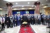 The 50th founding anniversary of of Behesht –e-Zahra cemetery and its premises, held with presence of Seyyed Hassan Khomeini and Tehran's mayor